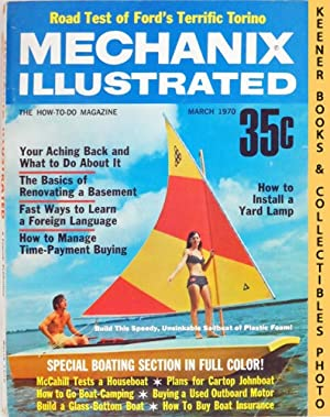 Mechanix Illustrated Magazine, March 1970 (Vol. 66, No. 502)