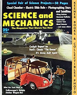 Science and Mechanics Magazine, October 1958 (Vol. XXIX, No. 5, Whole No. 174)