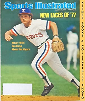 Sports Illustrated Magazine, March 28, 1977 (Vol 46, No. 14) : New Faces of '77 - Maury Wills&...