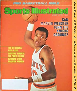 Sports Illustrated Magazine, October 16, 1978 (Vol 49, No. 16) : Can Marvin Webster Turn The Knicks...