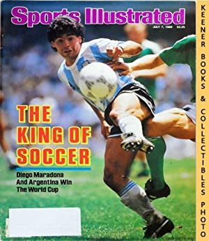 Sports Illustrated Magazine, July 7, 1986 (Vol 65, No. 1) : The King Of Soccer - Diego Maradona A...