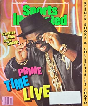 Sports Illustrated Magazine, November 13, 1989 (Vol 71, No. 20) : Atlanta's Neon Deion Sanders