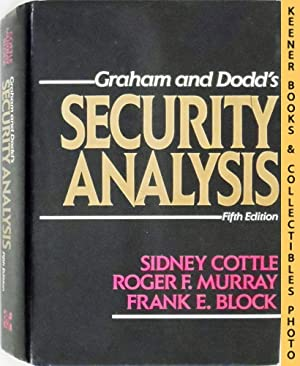 Graham and Dodd's Security Analysis