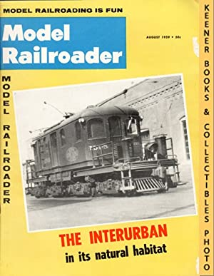 Model Railroader Magazine, August 1959 (Vol. 26,: Larson, Paul E.