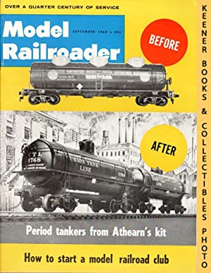 Model Railroader Magazine, September 1962 (Vol. 29, No. 9)