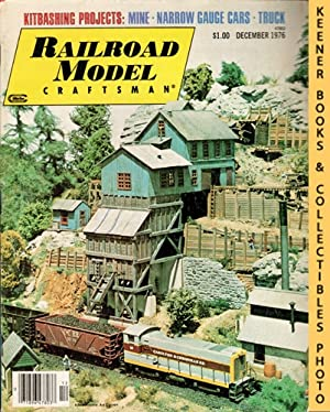 Railroad Model Craftsman Magazine, December 1976 (Vol. 45, No. 7)