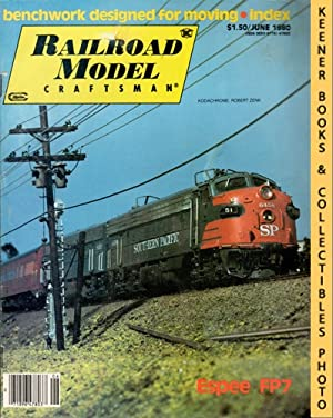 Railroad Model Craftsman Magazine, June 1980 (Vol. 49, No. 1)