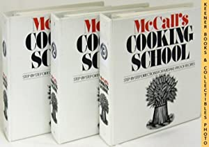 McCall's Cooking School COMPLETE Three (3) Volume 3-Ring Binders Cookbook Set: McCall's Cooking S...
