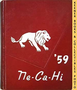 New Castle High School Pennsylvania 1959 Ne-Ca-Hi HS Annual Yearbook (Original)