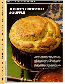 McCall's Cooking School Recipe Card: Vegetables 37 - Broccoli Souffle? (Replacement McCall's Reci...