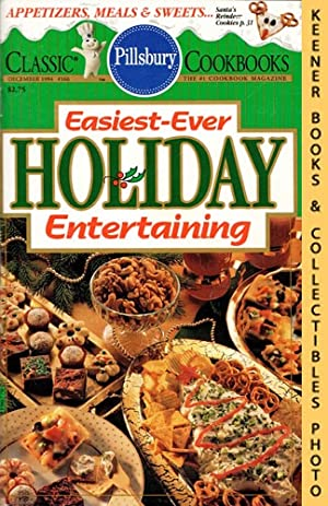 Pillsbury Classic #166: Easiest-Ever Holiday Entertaining: Pillsbury Classic Cookbooks Series