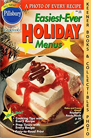 Pillsbury Classic #178: Easiest-Ever Holiday Menus: Pillsbury Classic Cookbooks Series