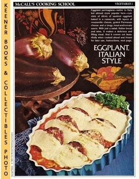 McCall's Cooking School Recipe Card: Vegetables 1 - Eggplant Parmigiana (Replacement McCall's Rec...