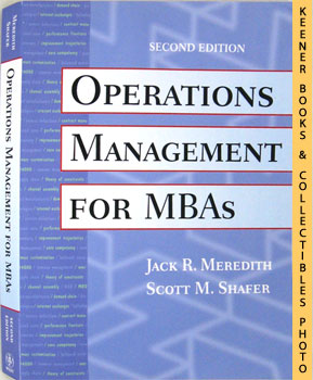 Operations Management For MBAs (Second - 2nd - Edition)