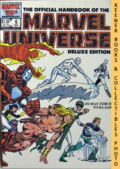 The Official Handbook Of The Marvel Universe,: Gruenwald, Mark /