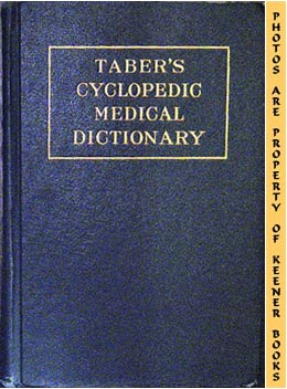 Taber's Cyclopedic Medical Dictionary, Eighth Edition