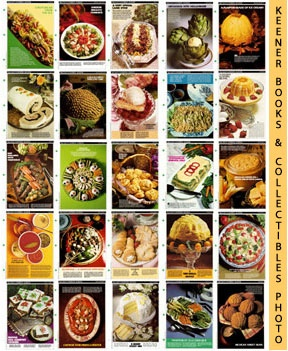McCall's Recipe Cards Choice of 50 - Your Choice Of Any Fifty Cooking School Cookbook Recipes (Re...
