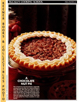 McCall's Cooking School Recipe Card: Pies, Pastry 27 - Chocolate Pecan Pie (Replacement McCall's ...