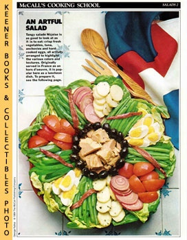 McCall's Cooking School Recipe Card: Salads 2 - Salade Nicoise (Replacement McCall's Recipage or ...