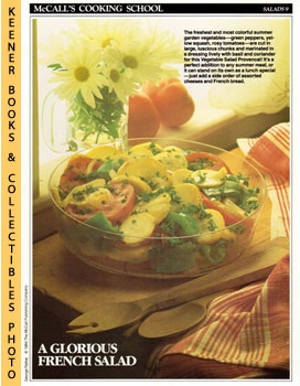 McCall's Cooking School Recipe Card: Salads 9 - Vegetable Salad Provencal (Replacement McCall's R...
