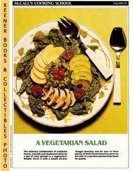 McCall's Cooking School Recipe Card: Salads 24 - Salade Regine (Replacement McCall's Recipage or ...