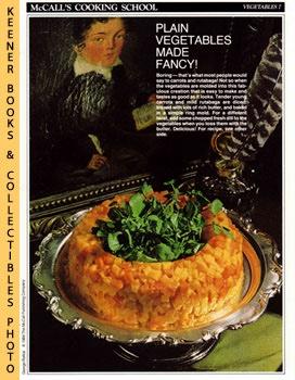 McCall's Cooking School Recipe Card: Vegetables 7: Langan, Marianne /