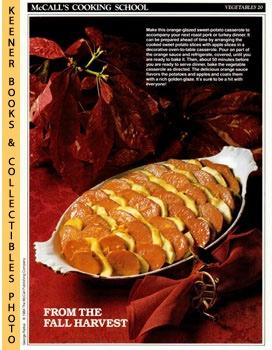 McCall's Cooking School Recipe Card: Vegetables 20: Langan, Marianne /