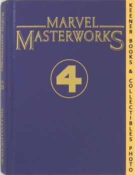 Marvel Masterworks Presents The Fantastic - 4 - Four (Volume 21 Nos. 31 - 40 & Annual No. 2)