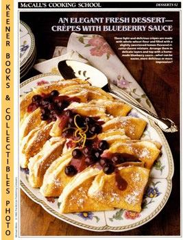 McCall's Cooking School Recipe Card: Desserts 52: Langan, Marianne /
