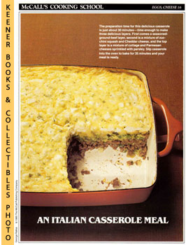 McCall's Cooking School Recipe Card: Eggs, Cheese: Langan, Marianne /