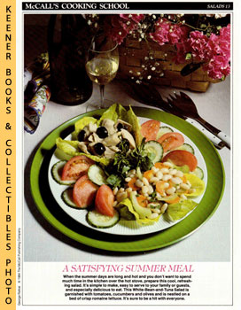 McCall's Cooking School Recipe Card: Salads 13 - White-Bean-And-Tuna Salad (Replacement McCall's ...