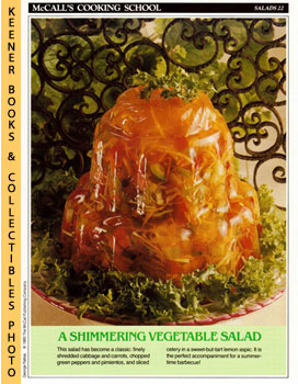 McCall's Cooking School Recipe Card: Salads 22 - Perfection Salad (Replacement McCall's Recipage ...