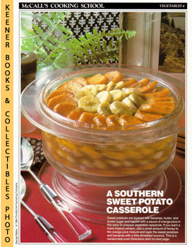 McCall's Cooking School Recipe Card: Vegetables 4 - Sweet-Potato-And-Banana Casserole (Replacemen...