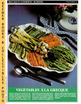 McCall's Cooking School Recipe Card: Vegetables 10 - Vegetables A La Grecque (Replacement McCall'...