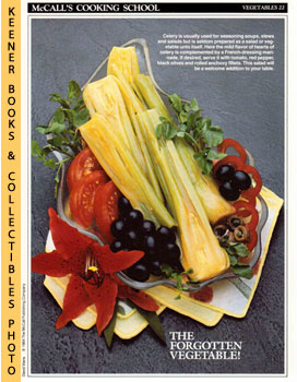 McCall's Cooking School Recipe Card: Vegetables 22 - Marinated Celery Hearts (Replacement McCall'...