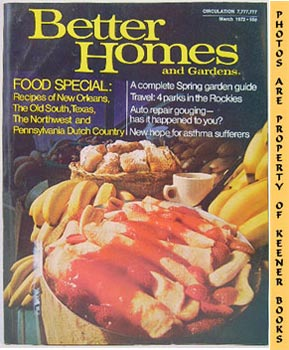 Better Homes And Gardens Magazine (March 1972 Vol. 50, No. 3 Issue)