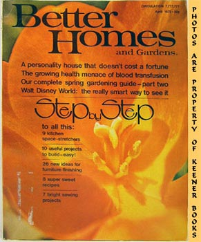 Better Homes And Gardens Magazine (April 1972 Vol. 50, No. 4 Issue)