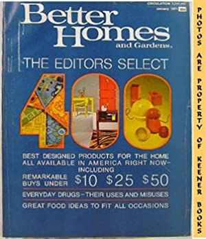 Better Homes And Gardens Magazine (January 1971 Vol. 49, No. 1 Issue)
