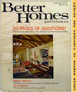 Better Homes And Gardens Magazine (May 1970 Vol. 48, No. 5 Issue)