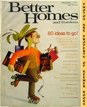 Better Homes And Gardens Magazine (July 1970 Vol. 48, No. 7 Issue)