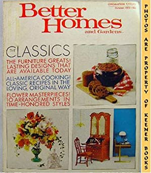 Better Homes And Gardens Magazine (October 1970 Vol. 48, No. 10 Issue)