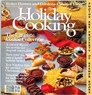 Better Homes And Gardens Creative Ideas Holiday Cooking 1983