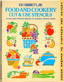 Food And Cookery Cut And Use Stencils