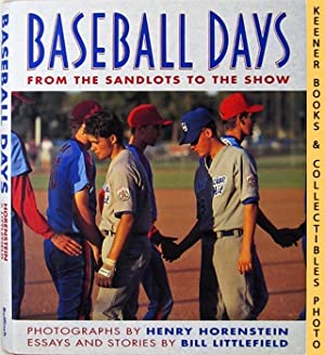 shop baseball essays writings books and collectibles baseball days from the sandlots to
