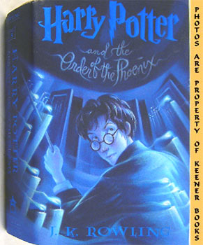 Harry Potter And The Order Of The Phoenix - 1st Edition / 1st Printing