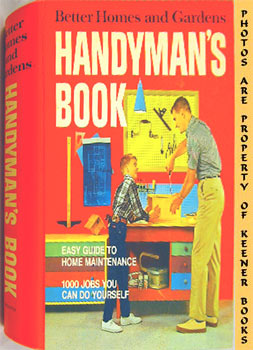 Better Homes And Gardens Handyman's Book (Five -5- Ring Binder)