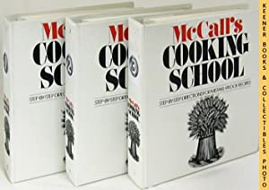 McCall's Cooking School COMPLETE Three (3) Volume 3-Ring Binders Cookbook Set