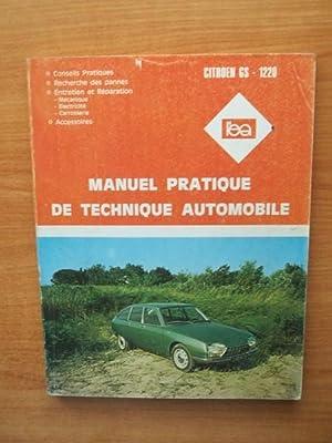 L'EXPERT AUTOMOBILE MANUEL PRATIQUE DE TECHNIQUE AUTOMOBILE: collectif