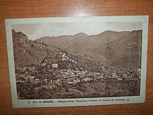 CPA : ENV. DE MEKNES Moulay-Idriss panorama: auteur non précisé