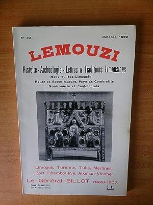 LEMOUZI histoire-archéologie-lettres & traditions limousines Haut et: collectif